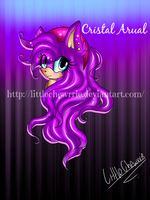 REQUEST FOR Cristal Arual :kind of a comission: by LittleChewrrie