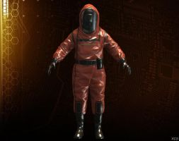 HAZMAT SUIT [CRYSIS 3] by Goreface13