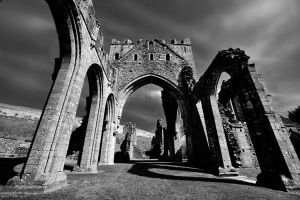 Llanthony Priory by aka-photography-uk