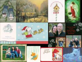 Christmas Card Collection 2013 Part 2 by victorymon