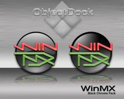 Win MX Black Chrome by weboso