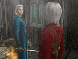 Devil May Cry_05 + Sims 2 by KorpensVingar