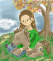 Pictures in the Park~Doccy and me by DragonsAndDreamscape