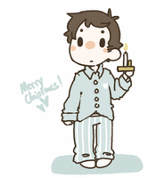 Castiel-Club Secret Santa by jamknight