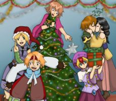 A Happy Chaotic Christmas by MoonWhing