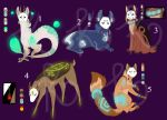 Mask Creature Adopts by KikiraAngel