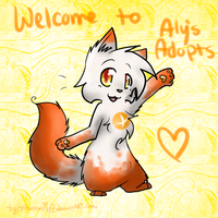 AlysAdopts Mascot thingie REDRAWN by Kitzophrenic