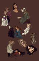 Labyrinth Speedpaints... by demonsaya