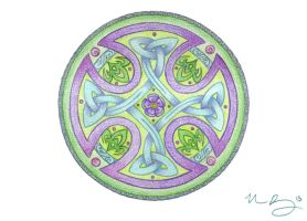 Summer Bloom Knotwork by Spiralpathdesigns