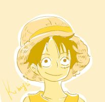 luffy by Kimyri