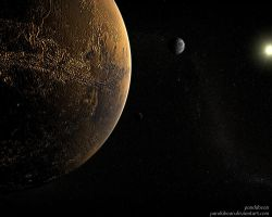 Mars The Unexplored Territory by pandabean