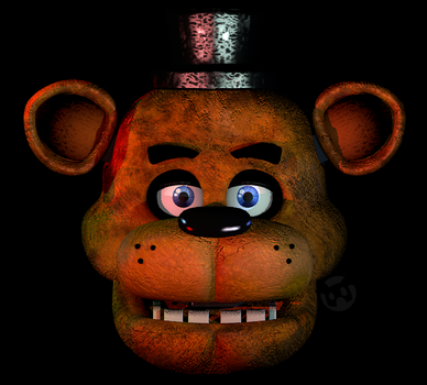 Freddy Fazbear V8 W.I.P (*IMPROVED*) by Nitroaucity