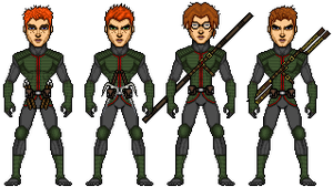 Four Brothers in Training Gear by UndefinedScott