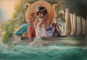 Queen of the Nile by itslopez