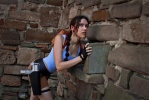 Lara Croft - secret lever by TanyaCroft