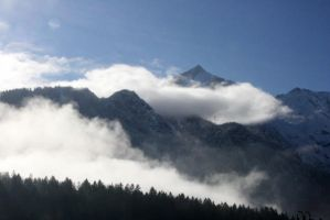 Mountains5 by NHuval-stock