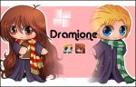 Draco and Hermione by anjali95