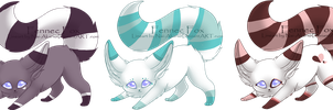 Fennec Fox Adopts  {all taken} by XxAdoptxX