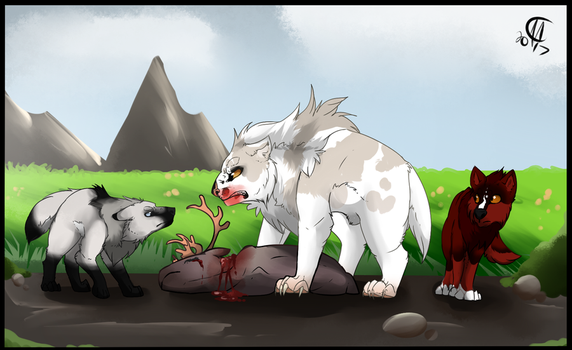 Hunt Payment - Growls by The-Ringo-Zebra