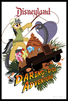 Daring Do Poster 2 by Avastindy