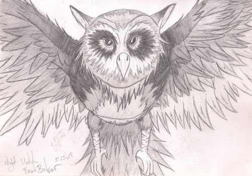Owl by MetalAddiction