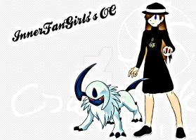 [REQUEST] InnerFanGirl's OC with Absol! by TheKalosQueenSerena