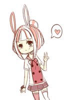 Bunny by misakins