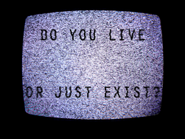 Do You Live Or Just Exist? by RedSoul77