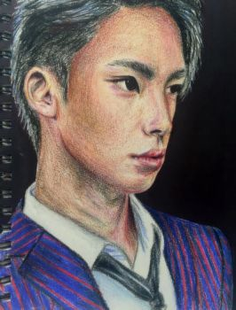 Seventeen - Mingyu Portrait by MadE14