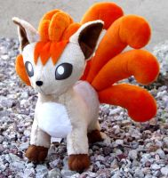 Vulpix Plush by Patchwork-Shark