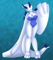 Lugia Anthro by AkuOreo