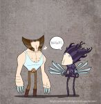 Wolverine Scissorhands by lost-angel-less