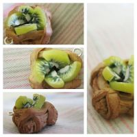 Kiwi Tart by CraftyAlice