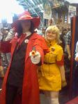 Alucard and Seras - Expo by PuddingValkyrie