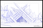 Untitled Animation Project - HQ Layout Sketch by AlexanderHenderson