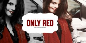 Action Only Red by colorfulflawless