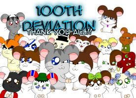 .:100th Deviation Special:. by Beasty-Kun