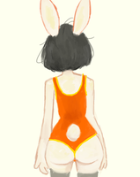 Bunny booty by oatmeal24