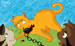 The brave ThunderClan leader... by Alibeats