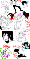 Jeff The Killer and Laughing Jack-Comic #9. by MikaelBratLoni