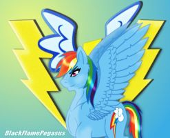 I will be a WonderBolt! by BlackFlamePegasus