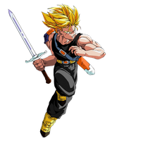 Future Trunks render by JayC79