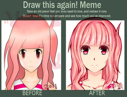 Draw This Again Meme by lixuei