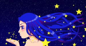 Blowing Stars by BrittanyJustus