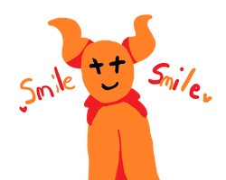 smile smile by Mew-lover-the-Cat