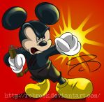 Kung Fu Mickey by RCBrock