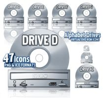 Alphabet DVD-ROM Drives by RiddickRom
