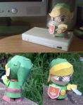Young Link - Papercraft by Lyrin-83