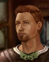 Dragon Age Origins. Alistair by shersann