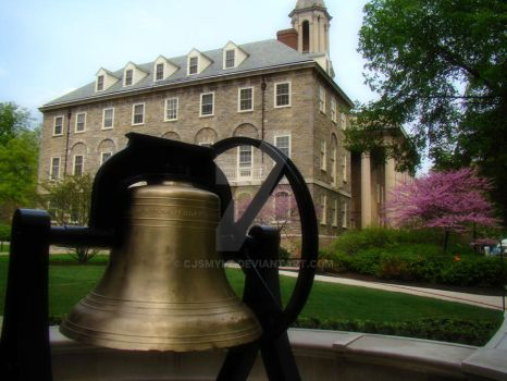 The Bell at Old Main by cjsmylz